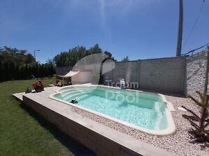 GFK Schwimmbecken Pool 5 x 3 x 1,5 Einbaubecken Fertigpool HERSTELLER
