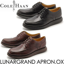 NWT228$ Cole Haan Men's Lunargrand Apron Black Oxford US Size 9 M