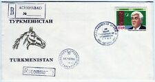 TURKMENISTAN - KAZAKHSTAN: 1993 FDC the Constitution Day HARD TO FIND