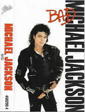 Michael Jackson Bad CASSETTE ALBUM Electronic Pop Rock, Synth-pop, disco