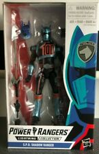 "Power Rangers Lightning Collection 6"" S.P.D. Shadow Ranger NEW sealed MIB"