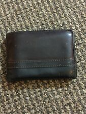 BROWN LEATHER FOSSIL MEN'S WALLET