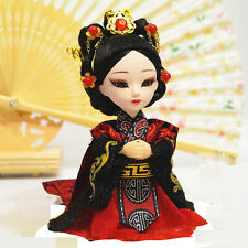 6'' Chinese Peking Opera Q version Doll  firgurine Historical Empress Wei Zifu