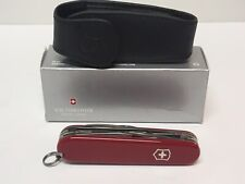 VICTORINOX SAK TINKER RED WITH POUCH 8 FUNCTION #141 POCKET KNIFE JM