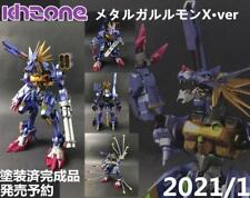 Khzone Studio Digimon Adventure Metal Garurumon X Figure Collection Limited N