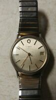 Vintage Timex M Cell Battery Quartz Water Resistant Watch w/Date & Time Rare