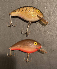 Lot of 2 Rebel Mini R Vintage Fishing Lures - 2-1/2
