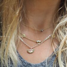 DAISY KNIGHTS Solid 9ct Rose Gold Watermelon Necklace £205