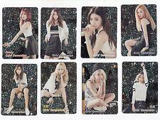 Korea K-POP KPOP Girls' Generation TAEYEON Tiffany HYOYEON Yoona YURI 8 card 153