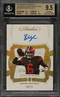 2018 Panini Flawless Signatures Baker Mayfield ROOKIE RC AUTO /25 #6 BGS 9.5