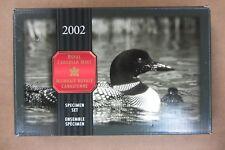 2002 CANADA SPECIMEN SET - ORIGINAL BOX