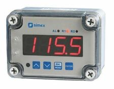 Simex On/Off Temperature Controller, 110 x 80mm, Thermocouple Input, 230 V ac Su