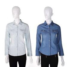 Blouse Denim Unbranded Tops & Shirts for Women
