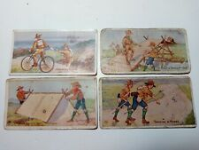 Tuckett Boy Scout Series Tobacco Cards 1910 C125 Fisher Candy E41 E42 Blank Back