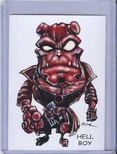 HELL BOY ** TRADING CARD ART by RAK ** HAND SIGNED NEAR MINT ** SEE MY STORE