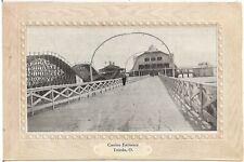 Casino Entrance, Toledo OH Postcard 1910 Amusement Park