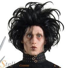 Official Edward Scissorhands Wig Halloween 80s Fancy Dress Costume Accessory
