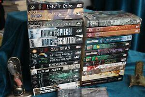 Vergessen Reiche Vampire Werwolf Fantasy Romane Bücher von Feder & Schwert neu