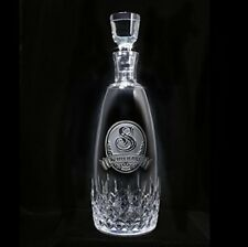 Waterford Crystal Lismore Essence Decanter with Stopper Engraved