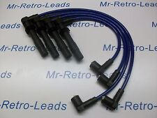 BLUE 8MM PERFORMANCE IGNITION LEADS TO FIT POLO 1.6 GTi 1.4 16V QUALITY LEADS HT