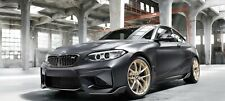 Genuine BMW F87 M2 763M M Performance Frozen Gold Wheels with Tyres 36115A3DE48