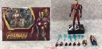 MK50 Deluxe Edition SHF Marvel Avengers Infinity War Iron Man MK50 Action Figure