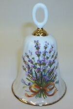 Flambro Bone China Bell - Sweet Lavender