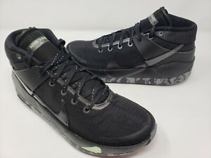 Nike KD13 Black Metallic Dark Grey Mens Size 8.5 Cool Grey CI9948 006 RARE New