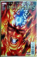 The Uncanny Inhumans #3 Marvel Comic 2016 1st Print Unread NM