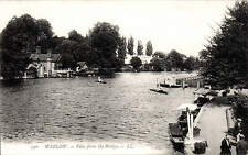 Marlow. View from the Bridge # 590 by LL / Levy. Black & White.