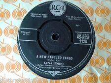 "VINYL 7"" SINGLE - A NEW FANGLED TANGO - LENA HORNE - 45RCA1120"