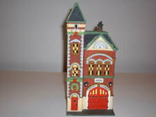 Red Brick Fire Station - Dept.56. Christmas In The City
