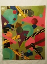 "Original signed acrylic art on canvas . ""Outer Limits"""