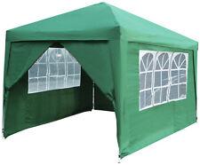 Side Walls&Door for 3m Green Steel Folding Gazebo PopUp Party Tent Garden Canopy