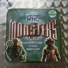 More details for doctor who: monsters on earth (limited edition bbc audio cd) box set (sealed)