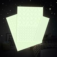 Leuchtfolie 517 Nachtleuchtende Sterne Aufkleber Set Sternenhimmel Wandsticker