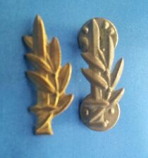 Israel IDF Army Navy & Air Force Golden & Silverd Officers lapel Pins Badget