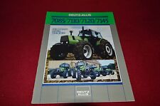 Deutz Allis Chalmers 7085 7110 7120 7145 Tractor Dealer's Brochure AMIL4