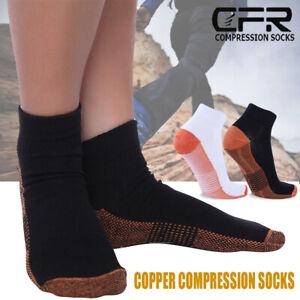Kupfer Kompression Socke Bogen Unterstützung Fuß Plantar Schwellung 15-20 mmHg