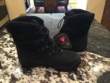 TIMBERLAND 'WOODHAVEN' WOMENS WINTER BOOTS SIZE 7 NEW BLACK SNOW SHOES