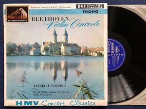 XLP 20043 *EX+* Alfredo Campoli Beethoven Violin Concerto John Pritchard /no ASD