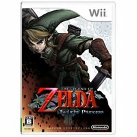 Used Wii The Legend of Zelda: Twilight Princess Japan Import