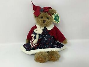 """The Bearington Collection Betsy And Ross 14"""" Jointed Bear Patriotic Outfit NOS#1"""