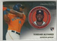 2020 Topps Series 2 Yordan Alvarez  Commemorative Coin Player Medallion Astros