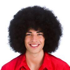Jumbo Afro Wig Mens Ladies Large Clowns Afro Fancy Dress Wig Black