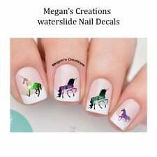 Galaxy Unicorn Nail Art Decals