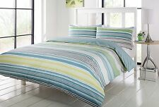 Dalston Double Duvet Quilt Cover Set Bedding Nineteen 11