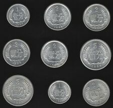 More details for china peoples republic 1,2 & 5 fen coins | world coins | pennies2pounds