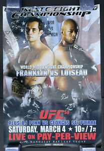 Official UFC 58, Rich Franklin, GSP, BJ Penn, Pride Fc. One Fc