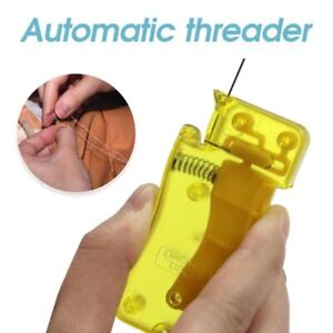Auto Needle Threader DIY Tool Home Hand Machine Sewing Automatic Thread Device